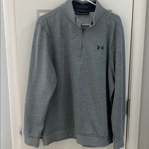 Under Armour 3/4 zip golf COLDGEAR pullover
